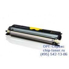 Тонер-Картридж повышенной емкости желтый совместимый аналог Epson Aculaser C1600 / CX16NF (аналог S050554) Ресурс - до 2700 страниц формата А4 при 5%