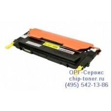 Тонер-картридж Samsung CLP-310/310N/315/ CLX-3170/3170NF/3175/3175FN (CLT-Y409S, c чипом), желтый, совместимый, (1000 стр.)