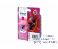Картридж пурпурный  Epson Т0733