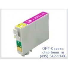 Картридж совместимый (T0733) EPSON Stylus C79/C110/CX6900F/CX8300/CX9300F/ TX209/TX409/T30/T40W/TX300F/TX600FW красны