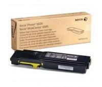 Картридж желтый повышенной емкости для Xerox Phaser 6600 ,WC 6605/6655 ,оригинальный