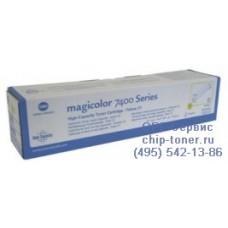 Оригинальный желтый тонер-картридж повышенной емкости Konica Minolta Magicolor 7450/7450 II (12 000стр, 8938622)