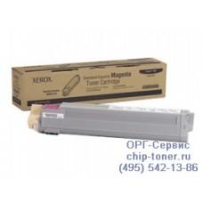Оригинальный тонер-картридж Xerox Phaser 7400 / 7400DN / 7400DT / 7400DX / 7400N / 7400DXF малиновый, magenta 106R01151, ресурс- 9000 страниц