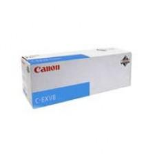 Тонер-картридж с голубым тонером для Canon iRC 3200 / CLC-3200 / 3220 / 2620 C-EXV8C (7629A002) Ресурс 25000 страниц оригинальный   C - EXV 8 C   .