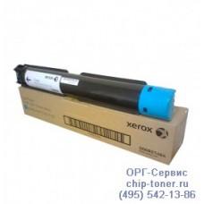 Тонер-картридж голубой оригинальный Xerox WorkCentre 7120 / 7125 / 7220 / 7225 (006R01464) Ресурс 15000 страниц