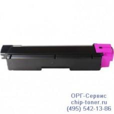 Картридж малинового цвета для Kyocera FS-C2126MFP, FS-C2126MFP+, TK-590M (ресурс 5000 стр.) совместимый