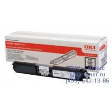 Оригинальный картридж с черным тонером для цветного принтера OKI C110 / C130 / MC160 (2.5K) (44250724) повышенной емкости