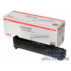 Оригинальный фотобарабан (Drum-unit black) OKI C9600 / 9650 / C9655 / 9655N / 9800 / 9850 / C9650 / C9850 / Xerox Phaser 7400 черный; 30K (42918108 / 108R00650)