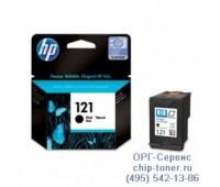 Оригинальный струйный картридж HP 121 Черный