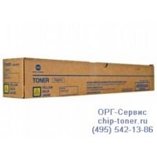 Тонер-картридж оригинальный с желтым тонером для Konica Minolta bizhub C227 / C287 (yellow, TN-221Y, A8K3250) ресурс 21000 копий при заполнении 5%