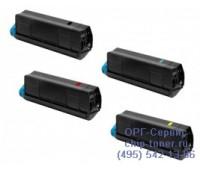 Картридж черный Oki C610 ,совместимый