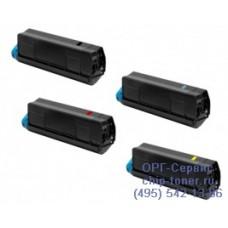 Пурпурный тонер-картридж для цветного принтера тонер-картридж для цветного принтера OKI 610 / oki c610 -пурпурный (6000 стр.) (44315322), совместимый