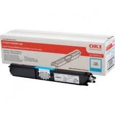 Оригинальный картридж с голубым тонером для цветного принтера OKI C110 / C130 / MC160 (2.5K) (44250723)