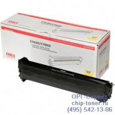 Оригинальный фотобарабан (Drum-unit yellow) OKI C9600 / 9650 / C9655 / 9655N / 9800 / 9850 / C9650 / C9850 / Xerox Phaser 7400 желтый; 30K (42918105 / 108R00649)