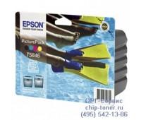 Комплект  Epson T5846 Picturepack ,оригинальный
