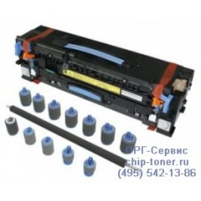 Сервисный комплект (комплект обслуживания) для НР LaserJet 9000 / 9050 / 9040, (аналог C9153A), (печь в сборе – 1 шт., ролик переноса заряда– 1 шт, ролик подачи (Feed rollers) – 7 шт,ролик захвата бумаги (Pickup rollers) – 2 шт.), совместимый