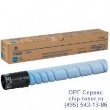 Тонер-картридж оригинальный с голубым тонером для Konica Minolta bizhub C227 / C287 (TN-221C, A8K3450) ресурс 21000 копий при заполнении 5%