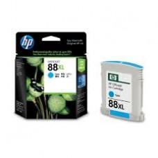 Струйный картридж Hewlett Packard HP 88XL (HP C9391A) Officejet Pro K550 / K5400 / K8600 / L7480 / L7580 / L7590 / L7680 / L7780, голубой (оригинальный-уценка), 17ml