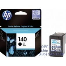 Картридж HP 140 (CB335HE) черный оригинальный для струйного принтера HP DeskJet D4263 / D4363 / HP OffceJet J5783 / J6413, HP PhotoSmart C4273 / C4283 / C4383 / C4473 / C4483 / C4583 / C5283 / D5363 Ресурс (стр. А4 при 5% заполнении): 200 страниц