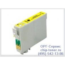 Картридж совместимый (T0734) EPSON Stylus C79/C110/CX6900F/CX8300/CX9300F/ TX209/TX409/T30/T40W/TX300F/TX600FW желтый