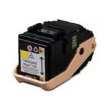 Тонер-картридж совместимого производства желтый для Xerox Phaser 7100N . Ресурс 4,5К (аналог 106R02608)
