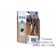 Картридж Epson T0922 голубой, оригинальный для Epson Stylus C91 / CX4300 / T26 / T27 / TX106 / TX109 / TX117 / TX119 (C13T09224A10), ресурс 480 страниц