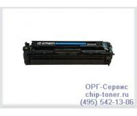 Картриджа голубой HP Color LaserJet CP1215 / 1515 / 1518 / CM1312 ,совместимый