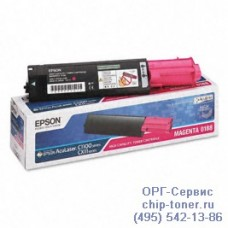 Картридж (тонер) EPSON S050188 AcuLaser C1100 / CX11N розовый, оригинальный (4000 стр.)(epson aculaser c1100)