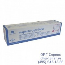 Оригинальный пурпурный тонер-картридж  повышенной емкости Konica Minolta Magicolor 7450/7450 II (12 000стр, 8938623)
