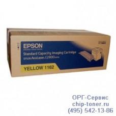 Принт-картридж (C13S051162) Epson AcuLaser C2800N (ЖЕЛТЫЙ) (2 000 страниц) оригинальный