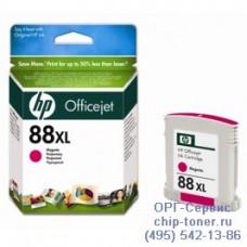 Струйный картридж Hewlett Packard HP 88XL (HP C9392AE) Officejet Pro K550 / K5400 / K8600 / L7480 / L7580 / L7590 / L7680 / L7780, пурпурный (оригинальный-уценка), 17ml