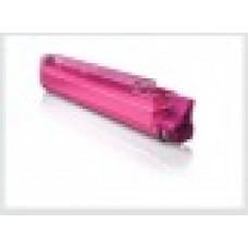 Розовый тонер-картридж для цветного принтера oki c9650 / oki c9850, совместимый (42918914)