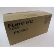 Узел фиксации (узел термозакрепления, печка) Kyocera FK-590 для Kyocera FS-C5150DN, FS-C5250DN, FS-C2026MFP+, FS-C2126MFP, FS-C2126MFP+ Ресурс: 200 000 страниц формата А4. Оригинальный