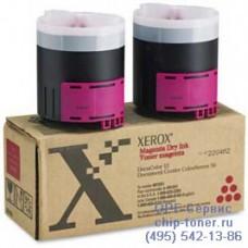 Тонер-картридж Xerox Docucolor DC 12 / Color Series 50 пурпурный на DC 12 / CS 50 006R90282 / 6R1051 (2 тубы) оригинальный