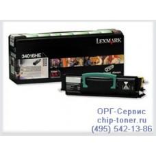 Тонер-картридж для лазерных принтеров Lexmark E340/E342n/E342tn, 6000 страниц (34016HE) совместимый