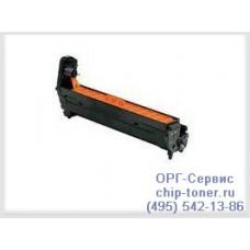 OKI Картридж-фотобарабан синий для oki c3200, 14K совместимый аналог (42126662)