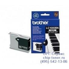 Оригинальный струйный картридж Brother LC1000BK black (черный), для Brother DCP-130C / DCP-330C / DCP-350C / DCP-353C / DCP-357C / DCP-540CN / DCP-560CN / DCP-750CW / DCP-770CW / FAX-1355 / FAX-1360 / FAX-1460 / FAX-1560 / MFC-240C / MFC-3360C / MFC-440CN