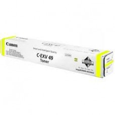 Тонер-картридж желтый Canon C-EXV49Y ,оригинальный
