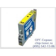 Картридж совместимый (T0484) EPSON Stylus Photo R200 / R220 / R300 / R320 / R340 / RX500 / RX600 / RX620 / RX640 желтый