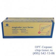 Оригинальный блок проявки Konica Minolta Magicolor 7450 / 7450-II / 7450-II-GA; пурпурный (30к) Magenta Print Unit, 4062413 (4062-413)