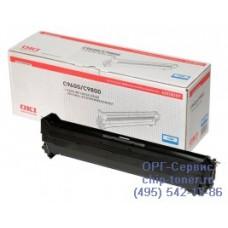 Оригинальный фотобарабан (Drum-unit cyan) OKI C9600 / 9650 / C9655 / 9655N / 9800 / 9850 / C9650 / C9850 / Xerox Phaser 7400 голубой; 30K (42918107 / 108R00647)