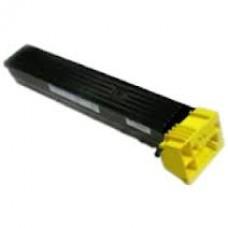 Совместимый картридж желтый для konica minolta bizhub C550 (аналог TN611Y, 27K)