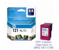 Картридж цветной HP 121 ,оригинальный