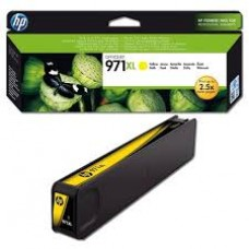 Картридж желтый (yellow) HP CN628AE, HP 971XL, для HP Officejet Pro X476DW / X576DW / X451DW / X551DW, ресурс : 6600 стр., оригинальный