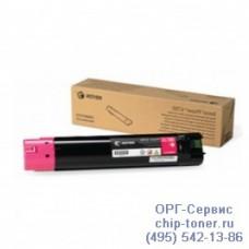 Пурпурный тонер-картридж повышенного объема для Xerox Phaser 6700 / 6700N / 6700DN, (12000стр., 106R01524), оригинальный