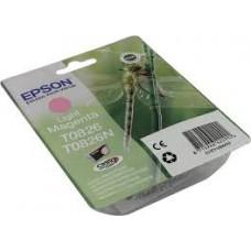 Картридж Epson T0826 светло-пурпурный, оригинальный для Epson Stylus Photo R270 / R290 / R390 / RX590 / RX610 / RX690 (C13T11264A10), ресурс 590 страниц