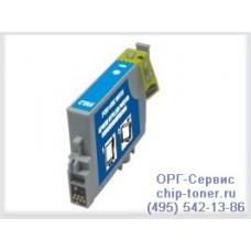 Картридж совместимый (T0482) EPSON Stylus Photo R200 / R220 / R300 / R320 / R340 / RX500 / RX600 / RX620 / RX640 синий