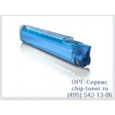 Cиний тонер-картридж для цветного принтера oki 9600 / oki 9800 синий, совместимый (42918915)