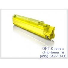 Желтый тонер-картридж для цветного принтера oki 9600 / oki 9800  желтый, совместимый (42918913)