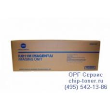 Оригинальный блок барабана (блок проявки изображения, фотобарабан) Develop Ineo+ 203 / 253 type IU-211 пурпурный,Magenta 55000/75000стр.